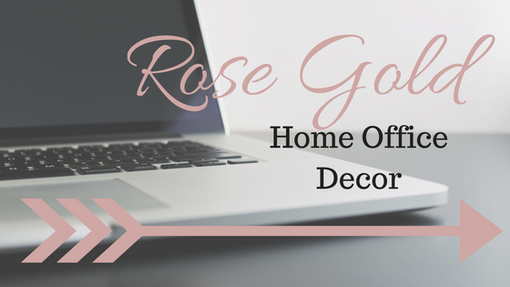 rose gold home office decor pearls and pantsuits. Black Bedroom Furniture Sets. Home Design Ideas