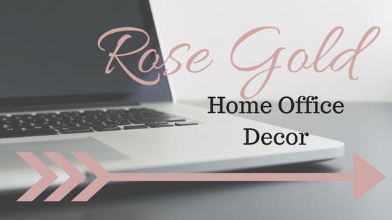 Rose Gold Home OfficeDecor
