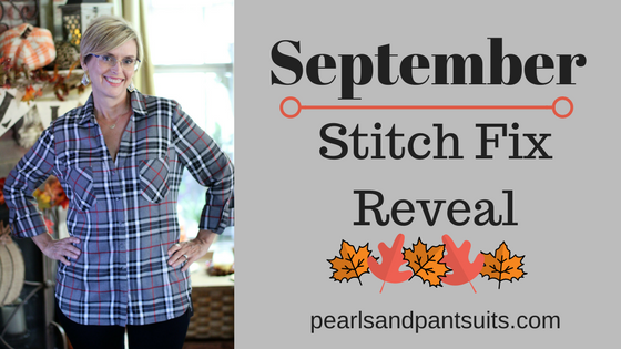 September Stitch Fix Reveal!
