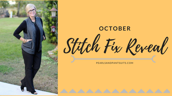 October Stitch Fix Reveal