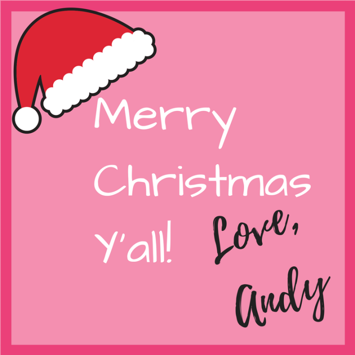 Merry Christmas Y'all!