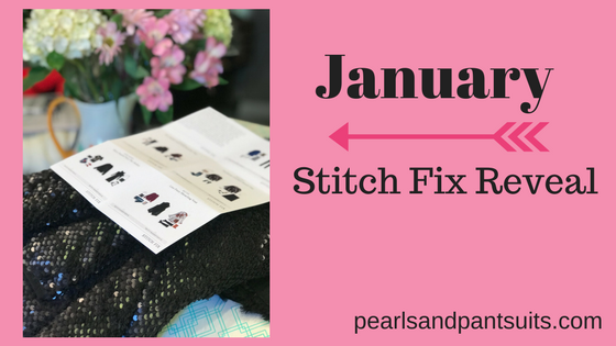 January Stitch FixReveal