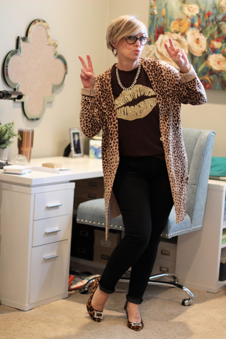 Leopard Print for a date night